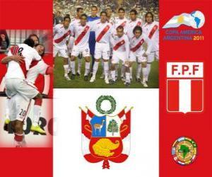 Puzle Seleção do Peru, Grupo C, Argentina 2011