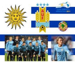 Puzle Seleção do Uruguai, Grupo C, Argentina 2011