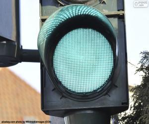 Puzle Semáforo verde