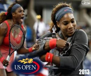 Puzle Serena Williams, campeã do US Open 2013