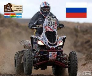 Puzle Sergey Karyakin, Dakar 2017