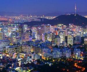 Puzle Seul, Coreia do Sul