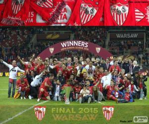 Puzle Sevilla, campeão Europa League 15