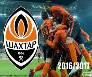 Puzle Shakhtar Donetsk, campeão 2016-17