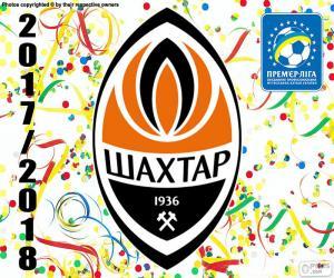 Puzle Shakhtar Donetsk, campeão 2017-18
