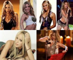 Puzle Shakira é uma cantora e compositora colombiana e produtor gênero pop rock em Inglês e Espanhol