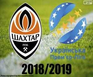 Puzle Shaktar Donetsk, campeão 2018-2019