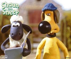 Puzle Shaun e Bitzer
