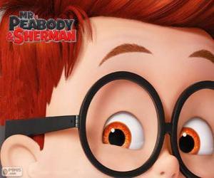 Puzle Sherman, o filho adotivo de Peabody