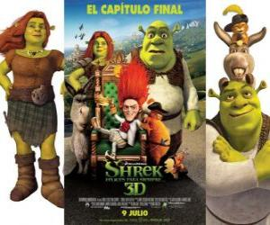 Puzle Shrek para Sempre