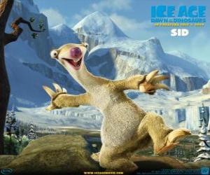 Puzle Sid, o preguiça charlatão