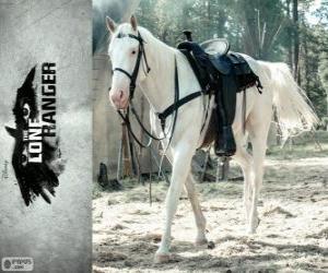 Puzle Silver é o cavalo de John