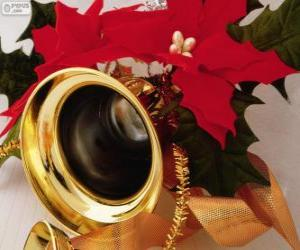 Puzle Sino decorado para o Natal