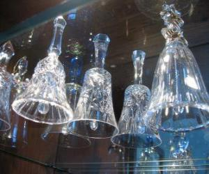 Puzle Sinos de Natal de vidro