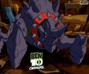 Puzle Siridozer é um alienígena do Nemetrix, Ben 10 Omniverse