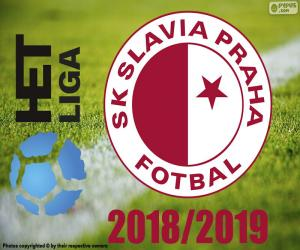Puzle Slavia Praga, campeão 2018-2019