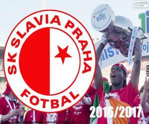 Puzle Slavia Praga, campeão de 2016-2017