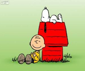 Puzle Snoopy e Charlie Brown