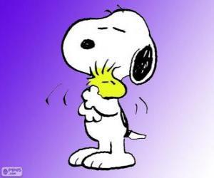 Puzle Snoopy e Woodstock