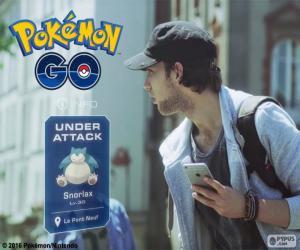 Puzle Sob ataque, Pokémon GO