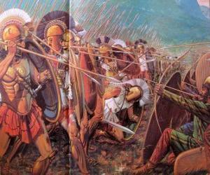Puzle Soldados gregos