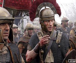 Puzle Soldados romanos