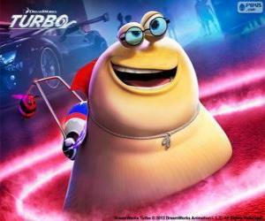 Puzle Sombra Branca do filme Turbo