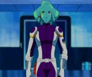 Puzle Spavid, um estudante alienígena na academia galáctica