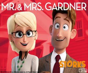 Puzle Sr. e Sra. Gardner, Cegonhas