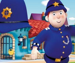 Puzle Sr. Plod é a polícia da Cidade dos Brinquedos, o País dos Brinquedos