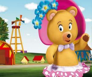 Puzle Sra. Tubby Urso a vizinha do Noddy