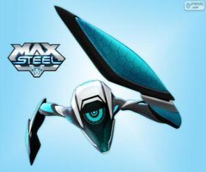 Puzle Steel, um alienígena de tecnologia Ultra-link