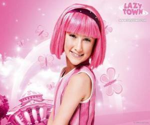 Puzle Stephanie de LazyTown
