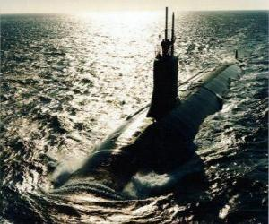 Puzle Submarino militar