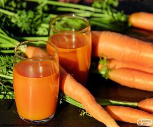 Puzle Suco de cenoura