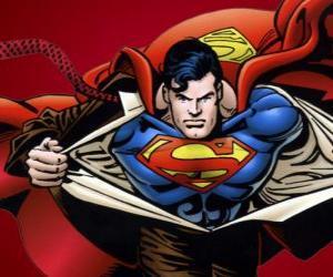 Puzle Superman desenho
