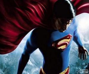 Puzle Superman, um dos mais famosos super-heróis