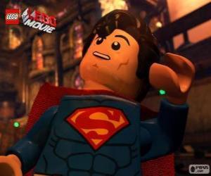 Puzle Superman, um super-herói do filme Lego