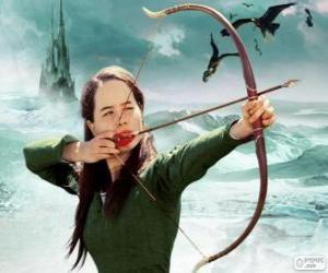Puzle Susan Pevensie com o arco