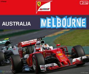 Puzle S.Vettel G.P Austrália 2016