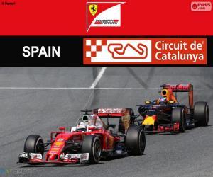 Puzle S.Vettel, G.P da Espanha 2016