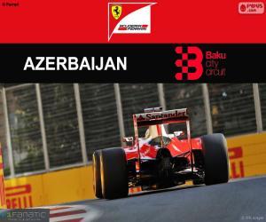 Puzle S.Vettel, G.P Europa 2016