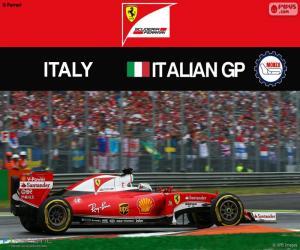 Puzle S.Vettel, G.P Itália 2016