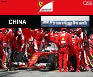 Puzle S.Vettel Grande Prêmio China 2016