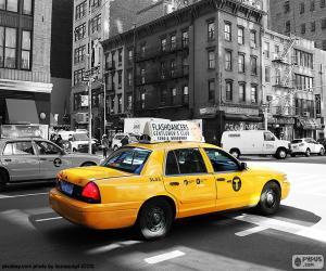 Puzle Táxi de Nova Iorque