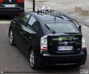 Puzle Táxi de Paris