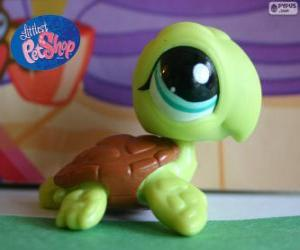 Puzle Tartaruga da Littlest PetShop