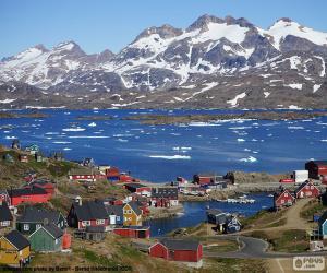 Puzle Tasiilaq, Gronelândia