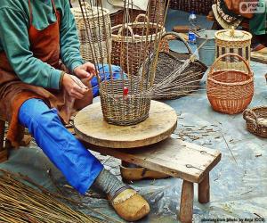 Puzle Tecelão de cestas