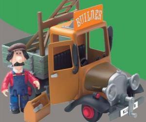 Puzle Ted Glen é o faz-tudo da aldeia de Greendale